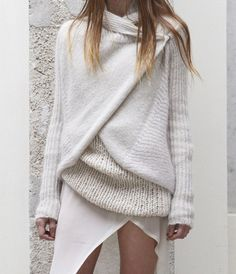 sweater + sweater= more sweater