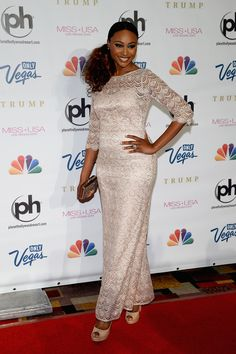 Cynthia Bailey - 2013 Miss USA Competition - Arrivals