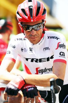 Alberto Contador of Spain and TrekSegafredo waits for the start of stage sixteen of the 2017 Tour de France a 165km road stage from Le Puy enVelay to...