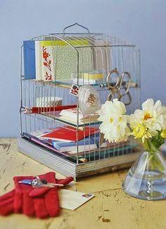 Repurposed Bird Cage