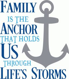 ♔ FAMILY IS THE ANCHOR THAT HOLDS US THROUGH LIFE'S STORMS SILHOUETTE SVG, #CRICUT, #CRICUTEXPLORE
