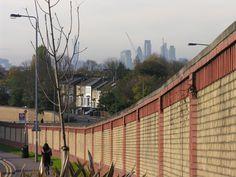 Looking toward the city from Leytonstone. Photo Martin Sepion.