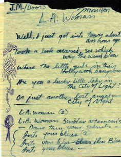 original L.A. Woman, The Doors
