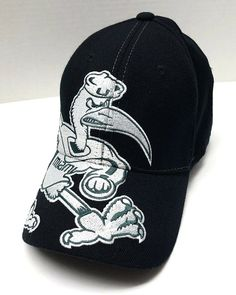 College NCAA University of Miami Hurricanes Snapback Hat with Sebastian the  Ibis  1Apparel  MiamiHurricanes da6f6dee9bc4