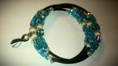 Cervical cancer beaded wrap