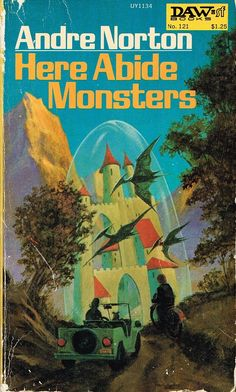 Here Abide Monsters by Andre Norton was published in 1973. Taking an abandoned road, two teenagers are transported back in time to Avalon of Arthurian legend where they are embroiled in a battle between good and evil.