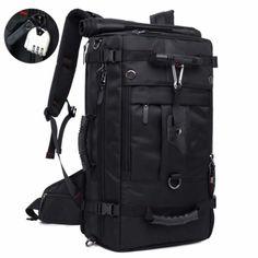 KAKA Travel Backpack,Carry-On Bag Waterproof Flight Approved Weekender Duffle Backpack Rucksack Daypack for Men Women inch) Travel Backpack Carry On, Rucksack Backpack, Canvas Backpack, Travel Luggage, Travel Bags, Waterproof Hiking Backpack, Hiking Bag, Large Bags, Outdoors