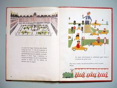 My Vintage Avenue !!! 50's and 60's illustrations !!!: M. Sasek - Paris