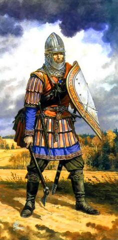 Kievan Rus warrior