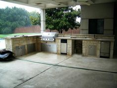 Outdoor Kitchen Ideas - Home and Garden Design Idea's
