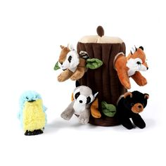 Gift Guide - Little Passports Woodland Critters, Woodland Animals, Subscriptions For Kids, Little Passports, Curious Kids, Painted Leaves, Gifts For Nature Lovers, Black Bear, Kids Christmas