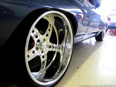72 Chevelle on 22x12 bonspeed lightweight billet 5 star wheels at Stuntfest 2013 atlanta georgia bluish grey red black