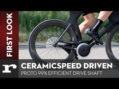 CeramicSpeed Driven chainless drivetrain is efficient Bicycle Safety, Bicycle Parts, Bike, Digital Art Gallery, Digital Collage, Shake Bottle, University Of Colorado, Drive Shaft, Tecnologia