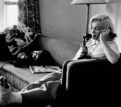 """Marilyn Monroe photographed by John Vachon, 1953. """