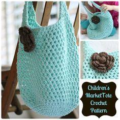 Tote Bag crochet pattern.