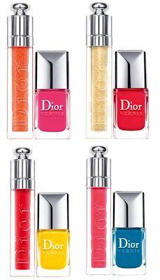 Esmalte o seu dia!: Coleção Summer Mix - Dior Confiram: http://esmalteoseudia.blogspot.com.br/2012/05/colecao-summer-mix-dior.html