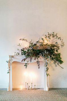 Mantel florals