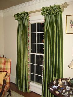 Drapes fabricated by The Whole 9 Yds, Roswell, GA