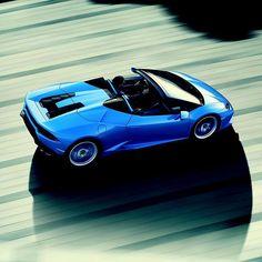 Feel limitless.  #HuracanSpyder #Lamborghini #beautiful