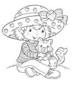 Coloring Book~Strawberry Shortcake - Bonnie Jones - Álbuns da web do Picasa