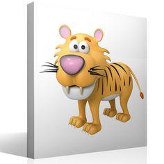Kinderzimmer Wandtattoo Tiger