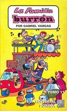 la familia burron comics | La Familia Burrón - Editorial Porrúa (11 al 13)