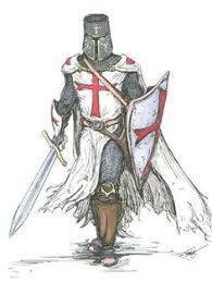 Resultado de imagem para cavaleiros medievais templarios desenhos