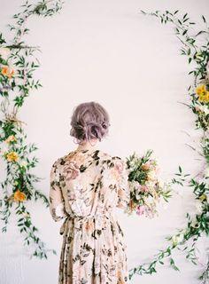 Pastel Botanical Bridal Inspiration Shoot | Milton Photography