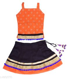 Checkout this latest Lehanga Cholis Product Name: *Cute Kid's Girl's Lehanga Cholis* Sizes:  0-3 Months, 0-6 Months, 3-6 Months, 6-9 Months, 6-12 Months, 9-12 Months, 12-18 Months, 18-24 Months, 0-1 Years, 1-2 Years, 2-3 Years, 3-4 Years Easy Returns Available In Case Of Any Issue   Catalog Rating: ★4 (387)  Catalog Name: Adorable Pure Rayon Kid's Girl's Lehanga Choli Sets Vol 1 CatalogID_616055 C61-SC1137 Code: 223-4297710-567