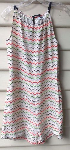8d591e3856 MISSONI FOR TARGET Size 10 Halter Playsuit Linen Silk MultiColour BNWT  RRP 99  fashion
