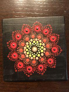 Hand painted 4x4, StonesbyJo at Etsy.com