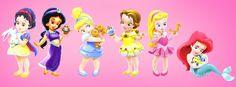 Princesas Bebes de Disney