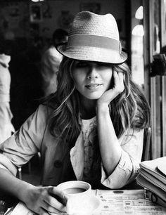 "cafeinevitable: "" Coffee Girl """