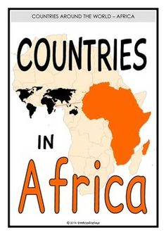 With a title page here is a set of 55 printables that shoe all the countries in the African continent. Each page reveals the country's name, flag, its population and capital city. A very informative learning aid! Visit our TpT store for more information and for other classroom display resources by clicking on the provided links.