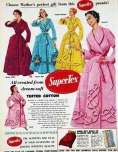Chenille housecoat