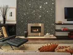 In LOVE with this fireplace.