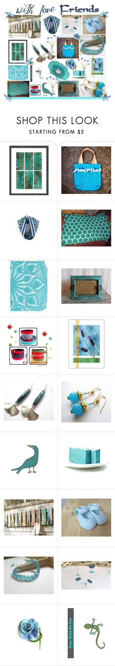"""""""Etsy Friends"""" by belladonnasjoy ❤ liked on Polyvore featuring Gold Eagle, modern, rustic and vintage"""