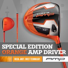 Cobra Golf.. giants colors. .yes please!
