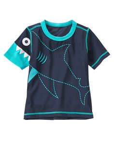 Shark Rash Guard Gymboree Boys