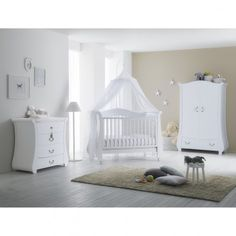 91d59f86d00 Βρεφικό κρεβατάκι - καναπές PALI Tulip Baby white :: PaliBaby Baby Room,  Toddler Bed