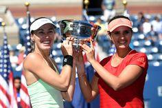 Martina Hingis and Sania Mirza Women's Doubles Champs!