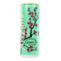 Arizona Iced Tea Thé Glacé Au Vert Ginseng Et Miel La Canette