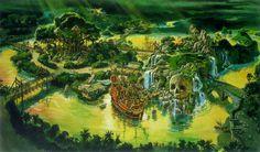 Adventure Isle, Disneyland Paris - Dan Goozeé