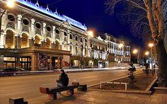 Достопримечательности Тбилиси: проспект Руставели
