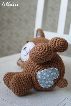 PATTERN Smuglybear crochet amigurumi by lilleliis on Etsy, $5.50