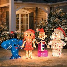 The Misfit Toys Rudolph Reindeer Santa Hermey Elves Christmas Yard Decor Lighted. The Misfit Toys Outside Christmas Decorations, Christmas Yard Art, Christmas Toys, Christmas Lights, Christmas Ornaments, Christmas Stuff, Christmas Ideas, Rudolph Christmas, Xmas