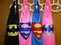 Super Hero Cape by NightnDayCreations on Etsy, $17.00