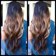 Beautiful Long Ombre Hair