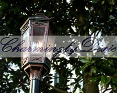 Gas Lamp Charleston SC   signed 8x10 print only by CharminglyDixie, $30.00