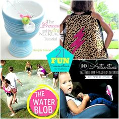 21 summer activites with kids